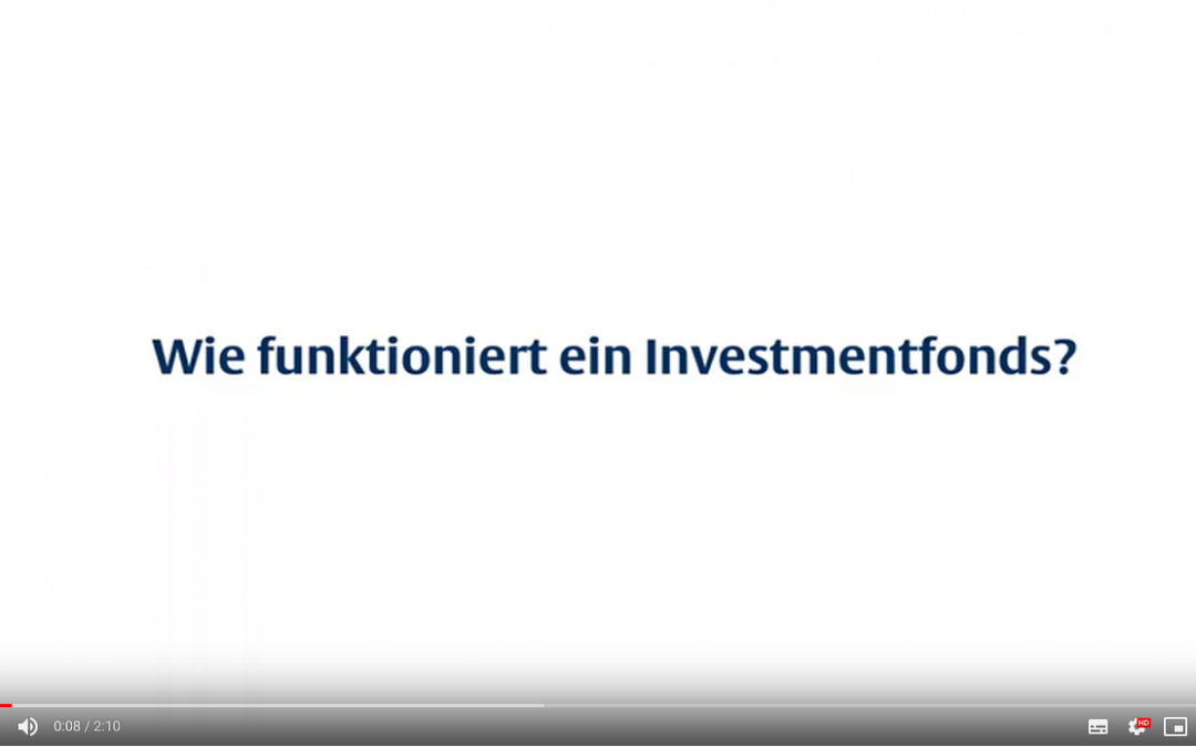 Wie funktioniert ein Investmentfonds?